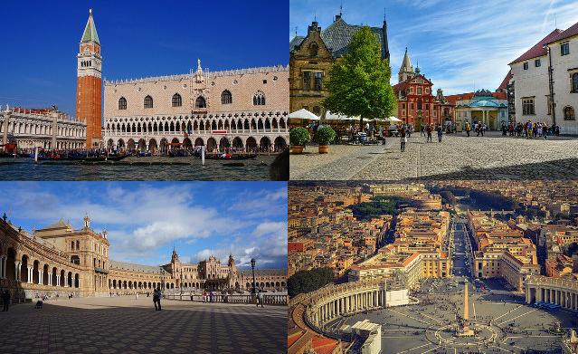 Europas schönste Plätze - Teil 1