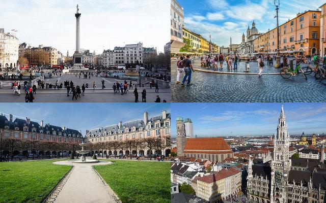Europas schönste Plätze - Teil 2