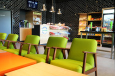 FlixBus-Lounge am Alexanderplatz