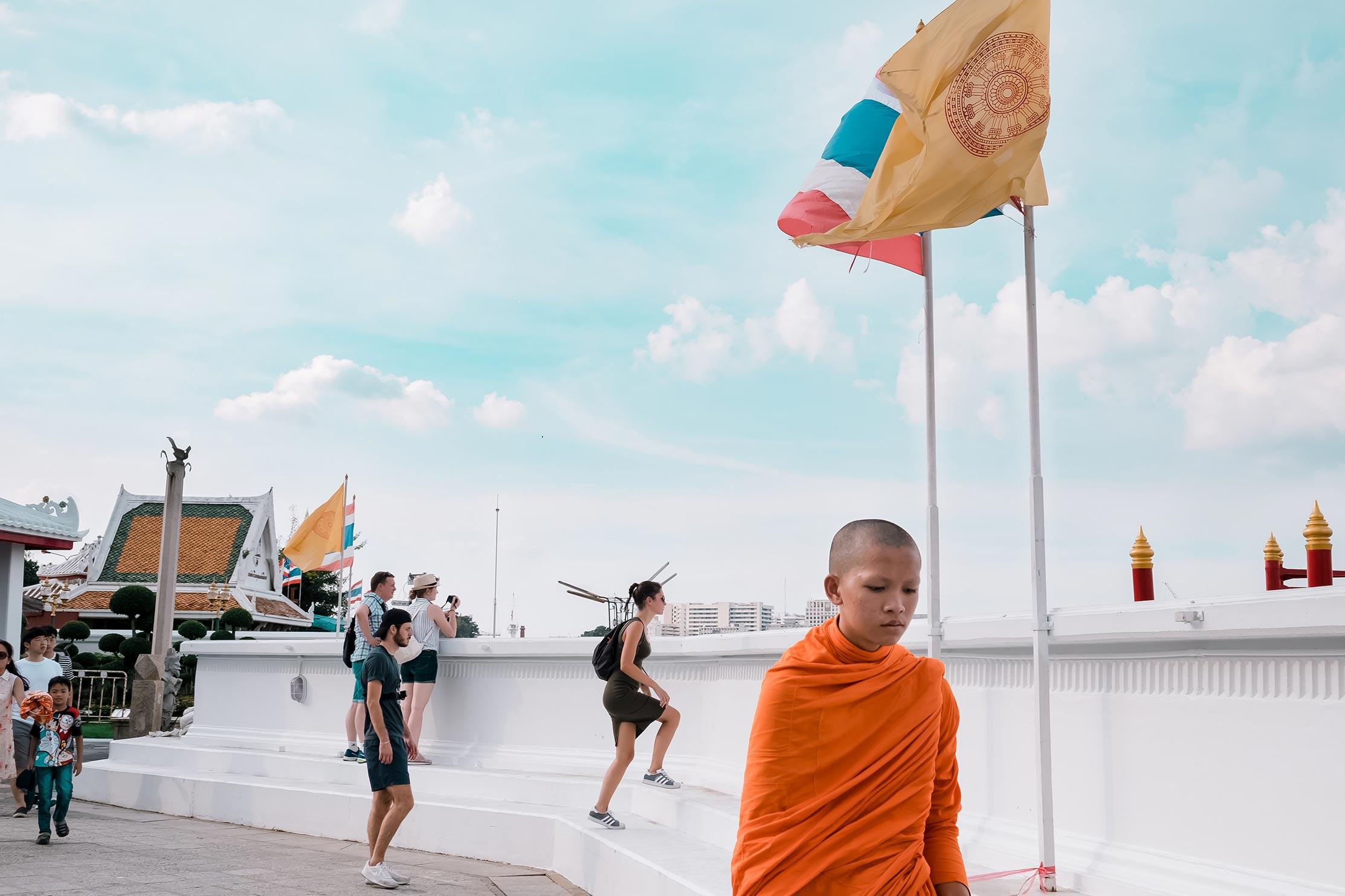 Gute Manieren in Thailand