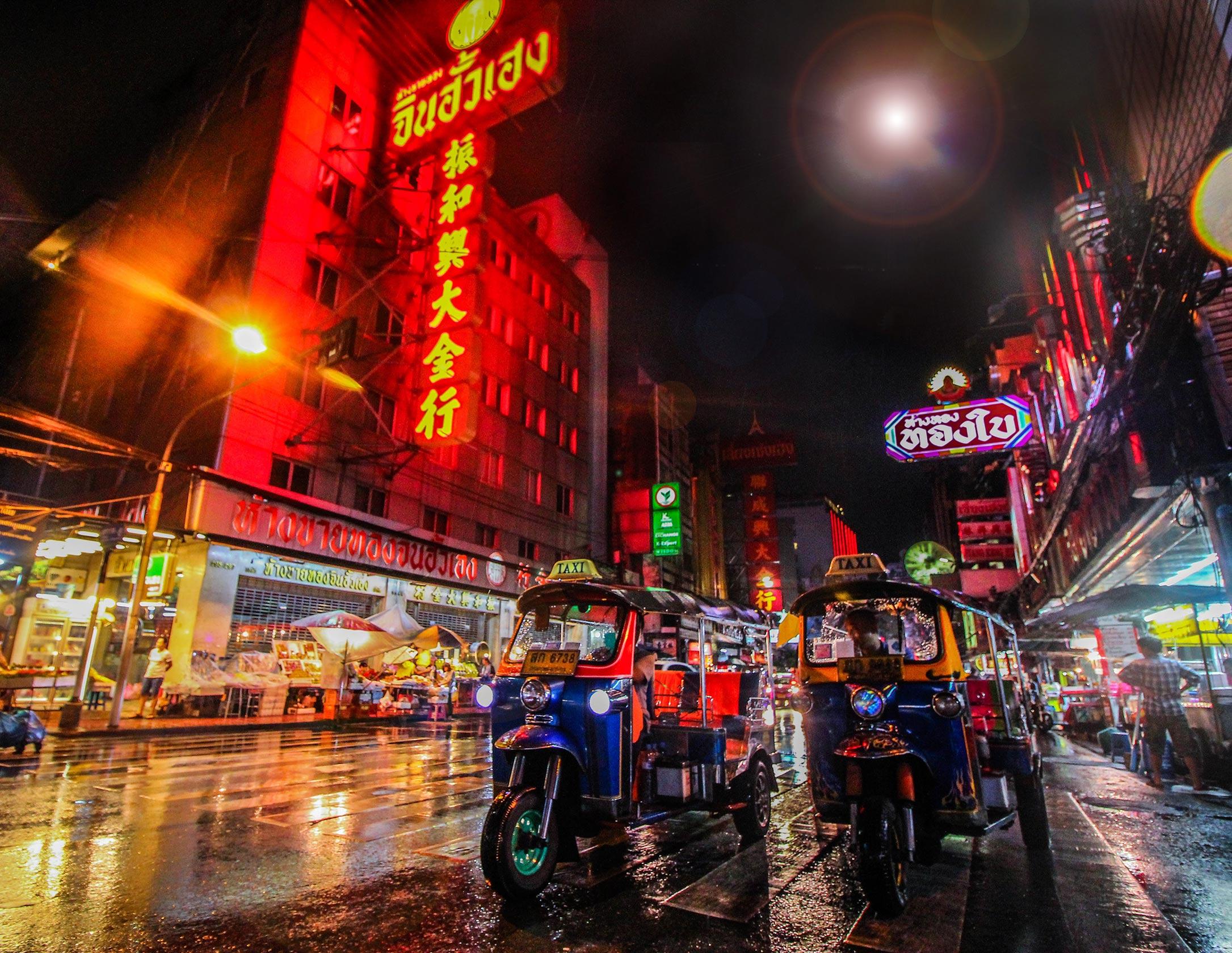 Thailand zur Regenzeit
